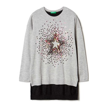 Sisley Young - Zerododici - Jersey - gris