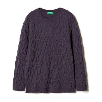 Sisley Young - Zerododici - Jersey - gris oscuro