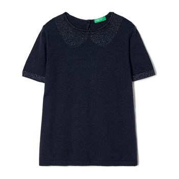 Benetton - Zerododici - Top - blu scuro