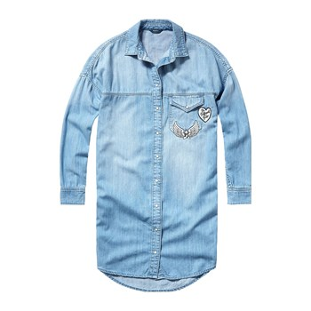 Pepe Jeans London - Lida - Camicia in jeans - blu jeans