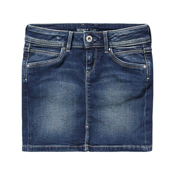 Pepe Jeans London - Monia - Gonna dritta - blu jeans