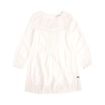 Pepe Jeans London - Dora - Robe trapèze - wit