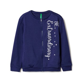 Benetton - Sweat-shirt - bleu