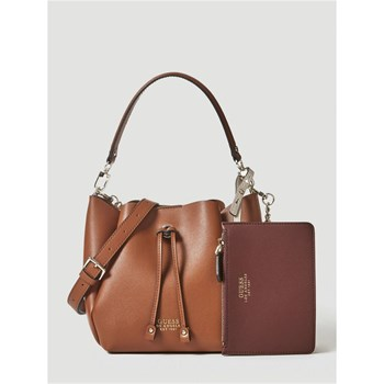 Guess - Ella - Sac seau - marron