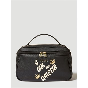 Guess - Be Queen - Grande trousse de toilette - noir