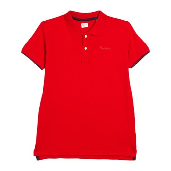 Pepe Jeans London - Thor - Polo manches courtes - rosso