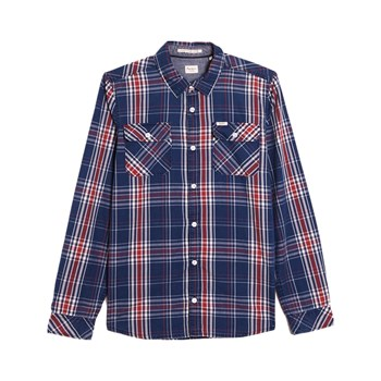 Pepe Jeans London - Nigel - Camisa de manga larga - azul