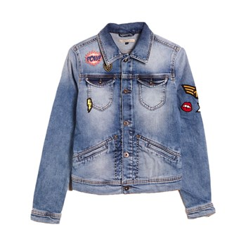 Pepe Jeans London - New Berry Throwback - Denim jasje - blue jean