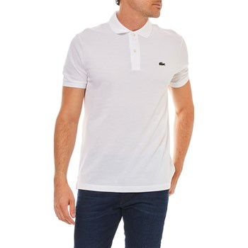 Lacoste - Polo manches courtes - bianco