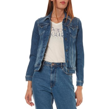 Pepe Jeans London - Thrift - Jeansjacke - jeansblau