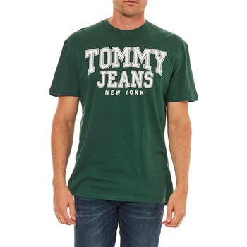 Tommy Jeans - T-shirt manches courtes - vert