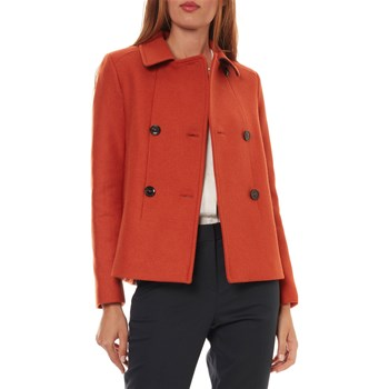 Caroll - Timothe - Manteau style caban - orange