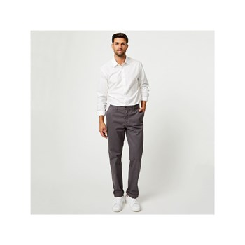 Monoprix - Pantalon chino coupe regular - gris