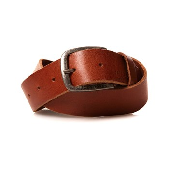 Jack & Jones - Paul - Leren riem - mokka