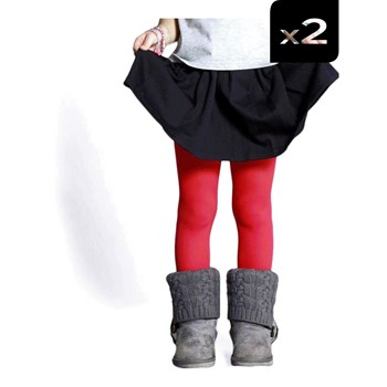 Wonderful Tights - Set aus Strumpfhosen - rot