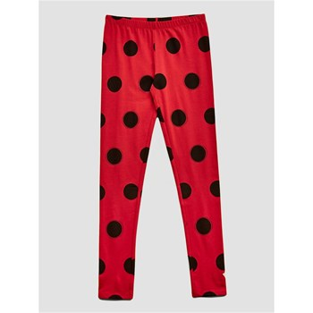 Guess Kids - Legging motif à pois - rouge