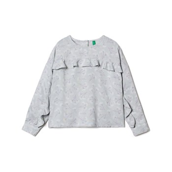 Benetton - Zerododici - Top - gris
