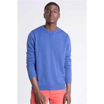 Bonobo Jeans - Sea - Pull col rond type sweat - bleu