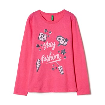 Benetton - Zerododici - Sweat-shirt - rose