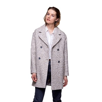 Trench and coat - Manteau 40% laine - beige