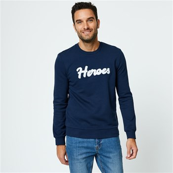 Monoprix Homme - Sweat-shirt - bleu