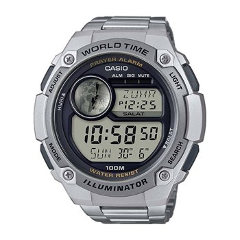 Casio - Collection - Orologio digitale - grigio metallizzato