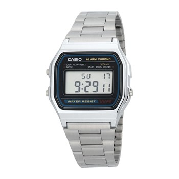 Casio - Retro Vintage - Uhr digital - metallgrau