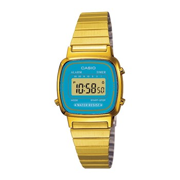 Casio - Retro Vintage - Orologio digitale - giallo