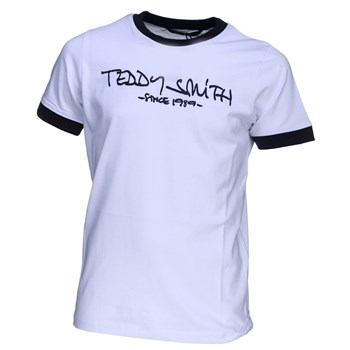 Teddy Smith - Ticlass mc - T-shirt manches courtes - blanc