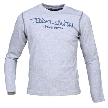 Teddy Smith - Ticlass ml jr - T-shirt manches longues - gris