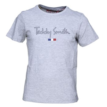 Teddy Smith - Teven mc - T-shirt manches courtes - gris