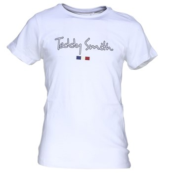 Teddy Smith - Teven mc - T-shirt manches courtes - blanc