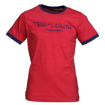 Teddy Smith - Ticlass mc - T-shirt manches courtes - rouge