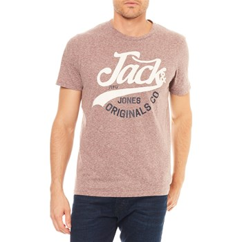 Jack & Jones - Camiseta de manga corta - burdeos