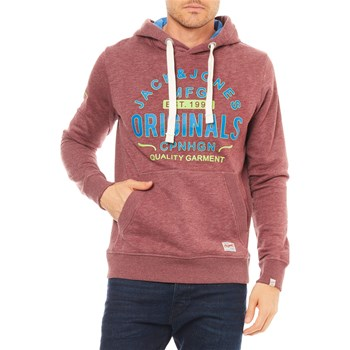 Jack & Jones - Jorsolicity - Sweater met capuchon - bordeaux