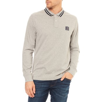 Tommy Hilfiger - Polo manches longues - gris
