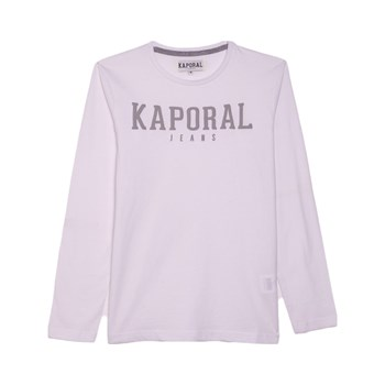 Kaporal - Messo - T-shirt manches longues - blanc