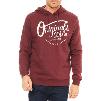 Jack & Jones - Sweat à capuche - bordeaux