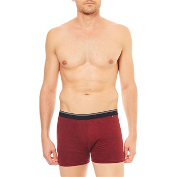 Celio - Pants - bordeauxrot