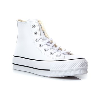 Converse - Chuck Taylor All Star Lift Clean - Sneakers - bianco