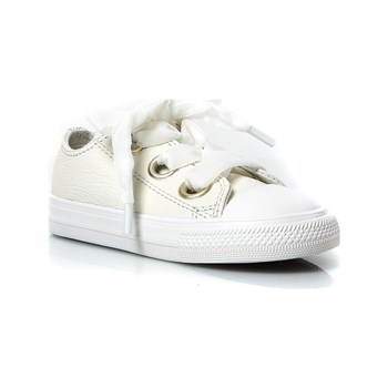 Converse - Chuck Taylor - Sneakers in pelle - bianco