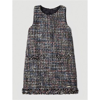 Guess Kids - Robe effet tweed - gris