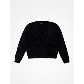 Guess Kids - Cardigan frourrure synthetique - noir