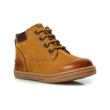 Kickers - Tackland - Bottines en cuir - camel