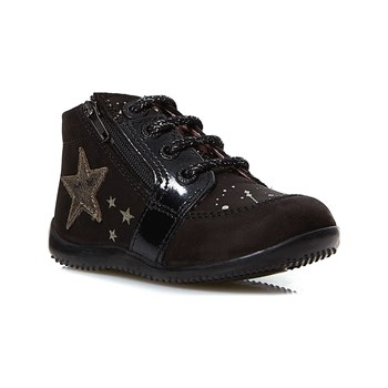 Kickers - Boustar - Sneakers in pelle - nero