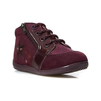 Kickers - Boustar - Sneakers in pelle - viola