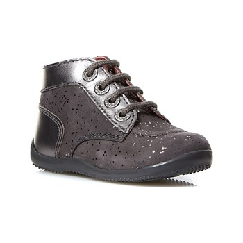 Kickers - Bonbon - Bottines - grigio