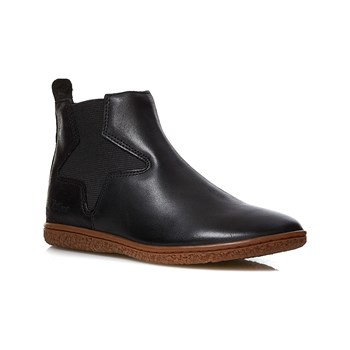 Kickers - Vermillon - Bottines en cuir - noir