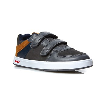 Kickers - Gready - Sneakers aus Leder - grau