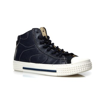 Primigi - Sneakers alte in pelle - blu scuro
